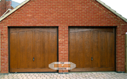 Cotswold Burford GRP garage doors in Desborough, Northamptonshire