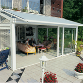 Conservatory awnings to control the temparature
