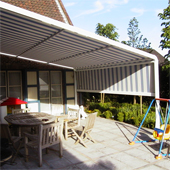 Patiola - the ultimate awning all year round
