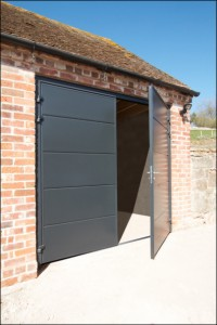 Insulated steel side hinged garage doors from Garador, Carteck, Hormann and Ryterna at The Garage Door Centre