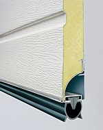 Carteck sectional garage door weatherseal