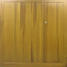 Cedar Bakewell with wicket door