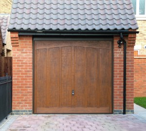 Pair of Cotswold Moreton GRP up and over garage doors