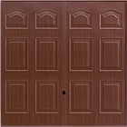 Hormann Marquess Rosewood up  and over decograin