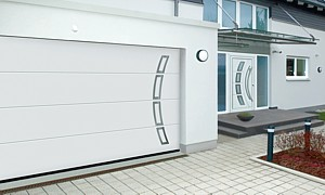 matchong garage and entrance doors