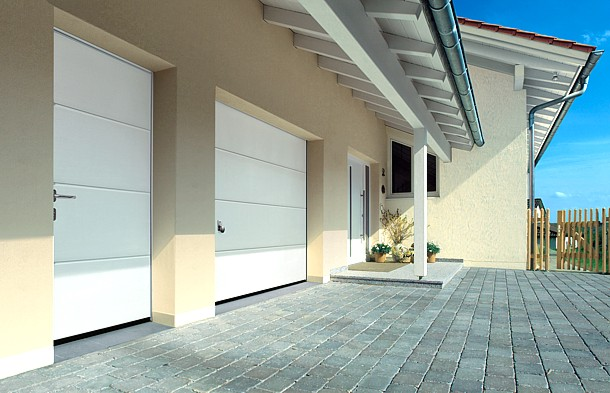 matching garage, sdie door and entrance door