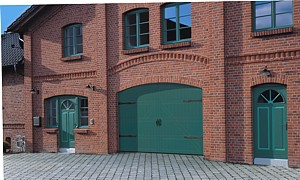 style 405 coach house timber sectional doors