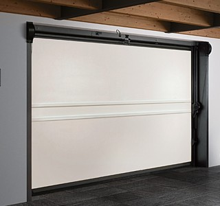 Domina overlap garage door internal image