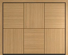 Tex Domina timber garage door