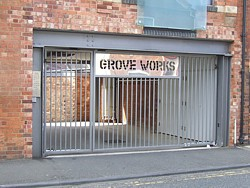 Grove Works apartments in Northampton town