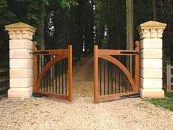 Estate gates underground automation