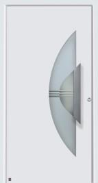 Hormann Top Range Front Door Design From The Garage Door
