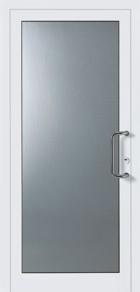 hormann style 100 plain style glazed front door