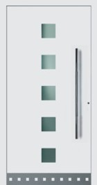 Hormann ThermoSafe Entrance Door - Style 177, stylish colour square designs