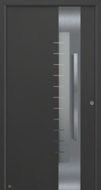 Hormann ThermoSafe Black Entrance Door - Style 560