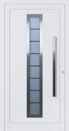 Hormann ThermoSafe Entrance Door - Style 65, translucent glazing