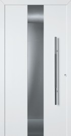 Hormann ThermoSafe White Entrance Door - Style 680