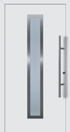Hormann ThermoSafe Entrance Door - Style 75, available with matching garage door
