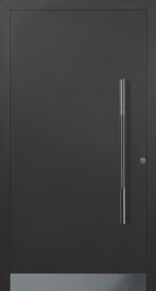 Hormann ThermoSafe Entrance Door - Style 860, metallic strip