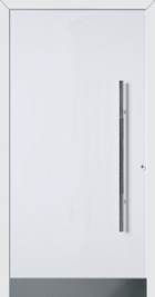 Hormann ThermoSafe White Entrance Door - Style 860, metallic strip