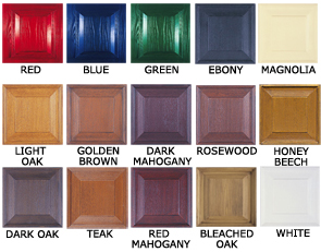 Wessex GRP door colours