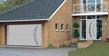 Hormann designer sectional garage door