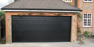 black garage doorRoller Shutter Garage Doors Gallery Roller Shutter Garage Door