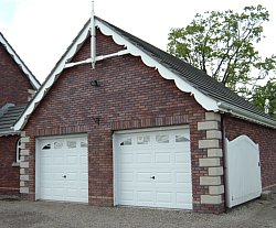 Amarr sectional garage doors with windows