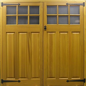 Side hinged doors | The Garage Door Centre