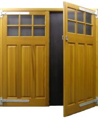 Side Hinged Cedar Doors