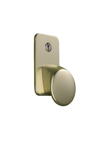 Brass Effect, Cast Aluminium - Garador Sectional Garage Door Handle