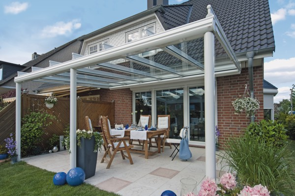 Glass verandas from Samson Awnings and terrace covers