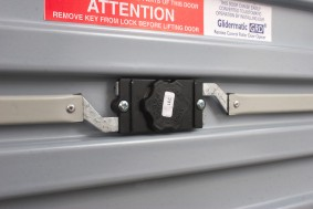 gliderol roller shutter garage door internal lock