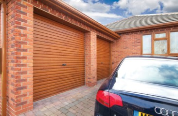 Gliderol Roller ShutterGarage Door also available in double sizes - Shown in double size