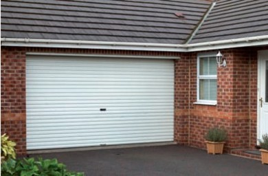 Gliderol Roller Shutter Garage Door also available in double sizes - Shown in double size