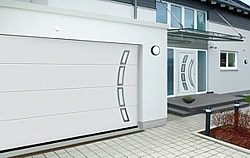 Hormann front door and matching sectional door