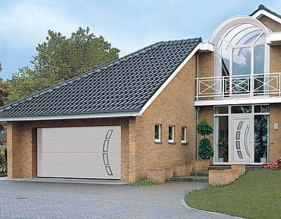 Designer garage doors and front doors from Hormann