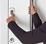 security finger scanner for entrance doors