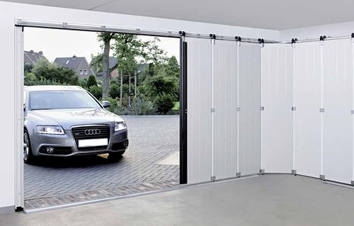 Sectional Doors Vertical Or Horizontal Opening Garage