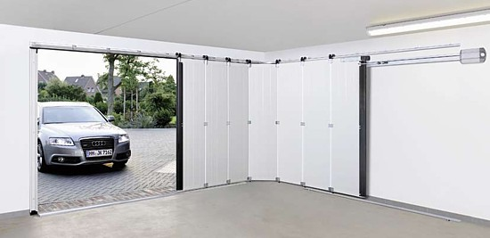 Hormann HST side sectional garage door