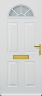 hormann tps 200 traditional standard white steel front house door