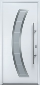 TPS 850 thermopro plus entrance door in white