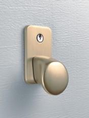 Brass Cast Aluminium Handle - Hormann LPU 42 Sectional Garage Doors