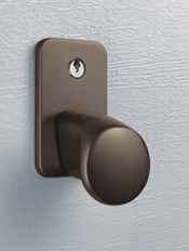 Bronze Cast Aluminium Handle for Hormann LTH Nordic Pine Sectional 404