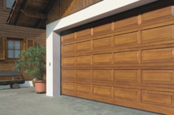 Hormann Sectional Garage Door timber wooden in hemlock