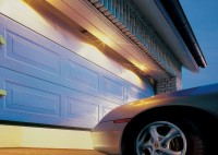 sectional garage door easily cope with short driveway