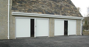 silvelox double garage doors