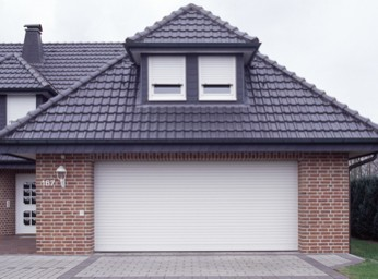 double roller shutter steel garage door