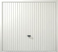 Novoferm Thornby in white with vertical ribbed design