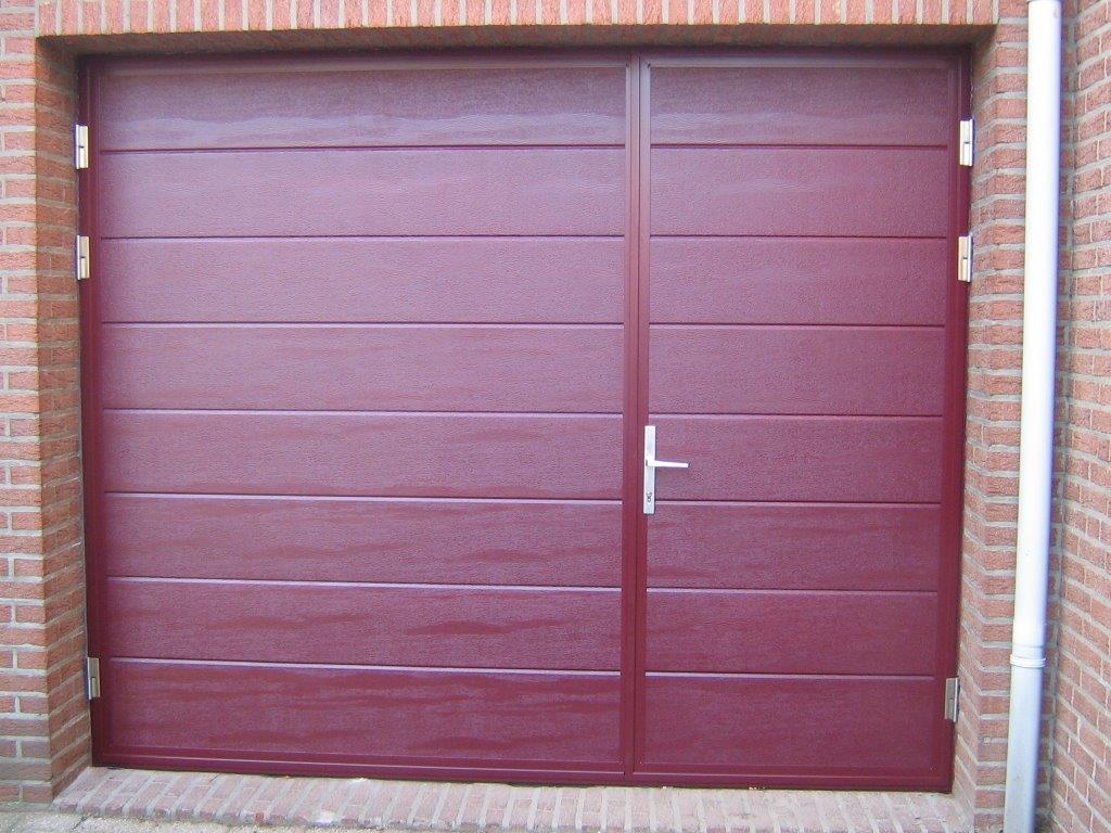 Seceuroglide insulated sectional garage door georgian cassette - Midrib Doors